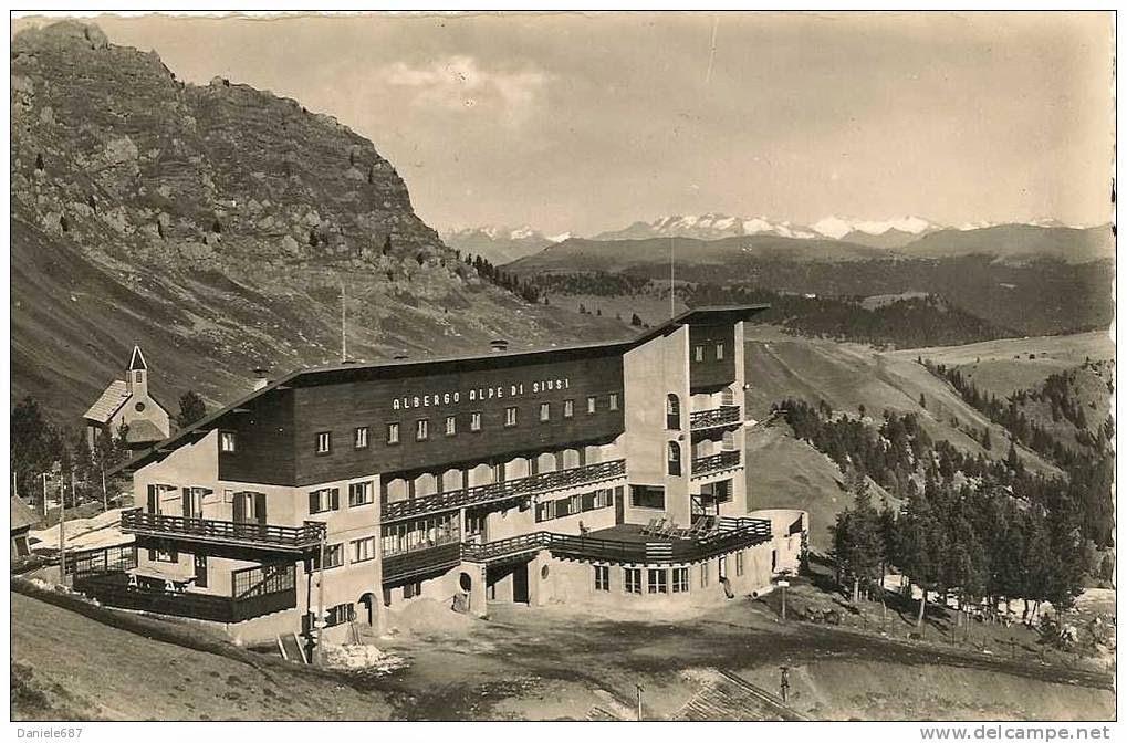 Rifugio del Touring all'Alpe di Siusi