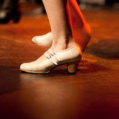 Zapatillas para baile flamenco, zapatos de mujer para bailar flamenco beige