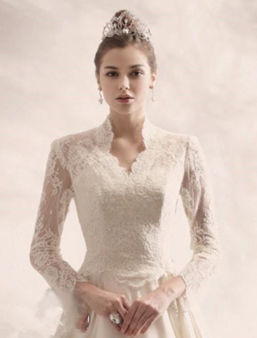 Grace Kelly Inspired Wedding Dress