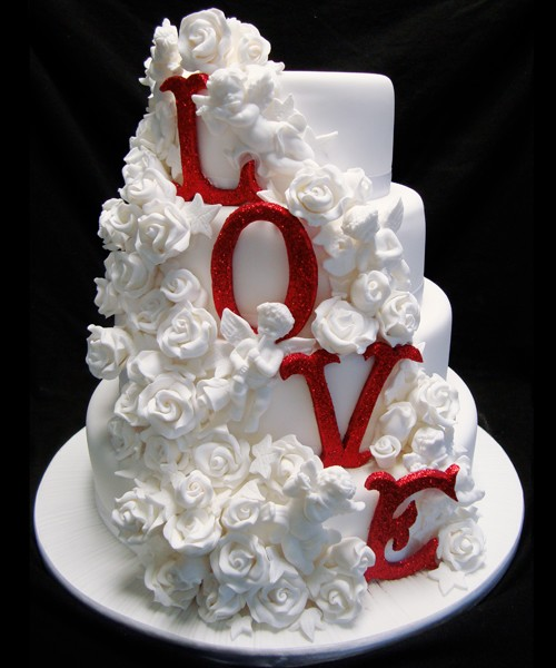 Christmas Wedding Theme Ideas: Musings Of A Bride: CHRISTMAS THEMED WEDDING: THE CAKE