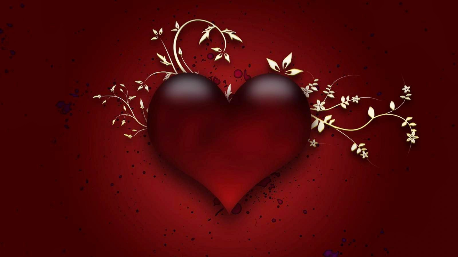 Red Heart Love Wallpaper: Download Free High Definition