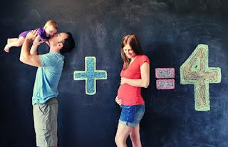 ideia criativa para contar que tá grávida