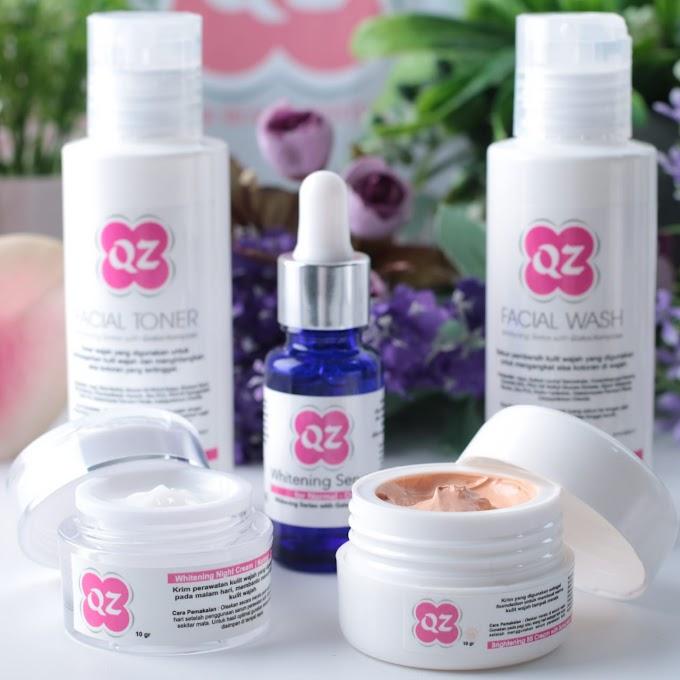 Solusi Kulit Bening Sehat Dengan QZ Whitening Series With Galactomyces