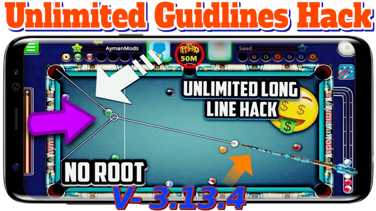 8 BALL POOL UNLIMITED GUIDLINE HACK With ARCHON CUE HACK ...