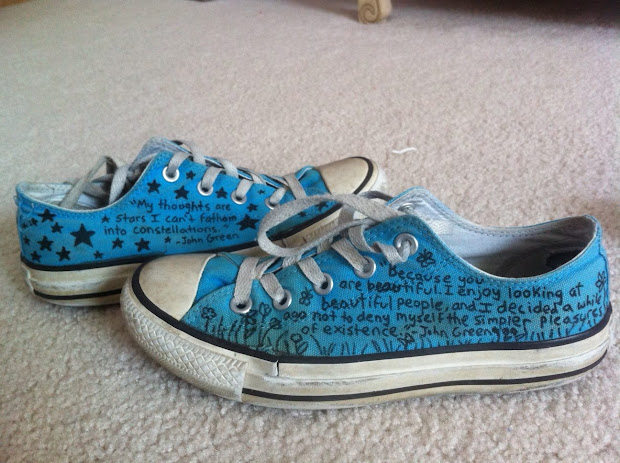 2a4a1eb5c581 Sharpie Converse Wolfie6 Deviantart · Encyclopedia Insanica Sharpie Shoes