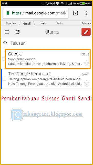 Ganti Sandi Gmail Lewat HP - Cara Ganti Kata Sandi Akun Gmail