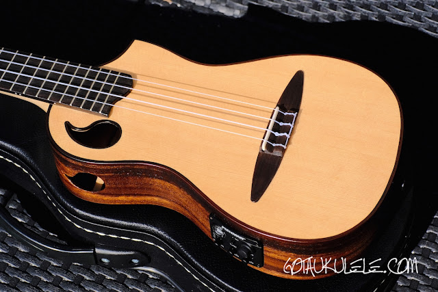 ZT Tenor Ukulele body