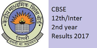 CBSE Inter 2ndf year Result 2017