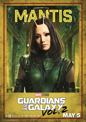 Marvel's Guardians of the Galaxy Vol. 2 Character Movie Poster Set - Mantis