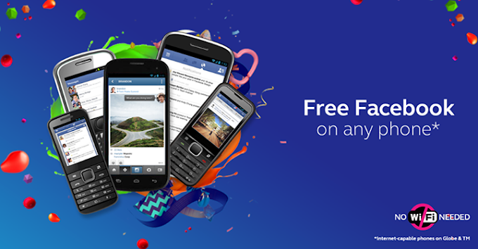 Globe offers again FREE Facebook