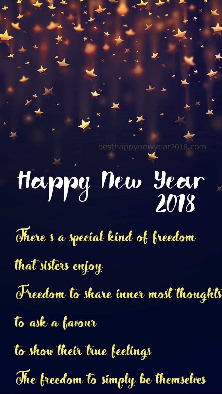 New Year 2018 Quotes For Sister Latest Happy New Year Wishes Sms