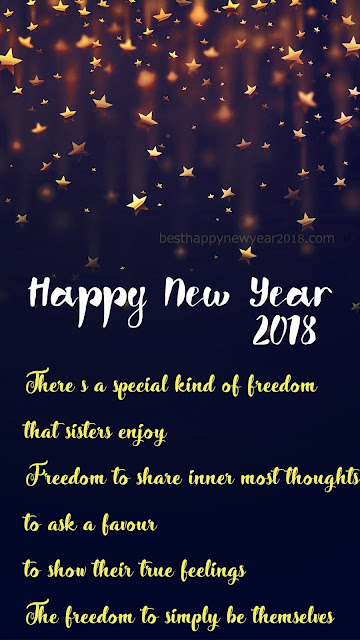 New Year Messages for Sister 2018