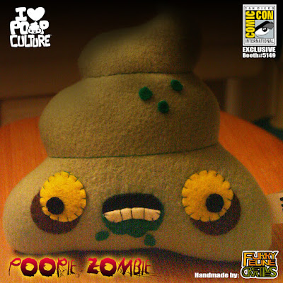 San Diego Comic-Con 2016 Exclusive Zombie Poop Plush by Furry Feline Creatives
