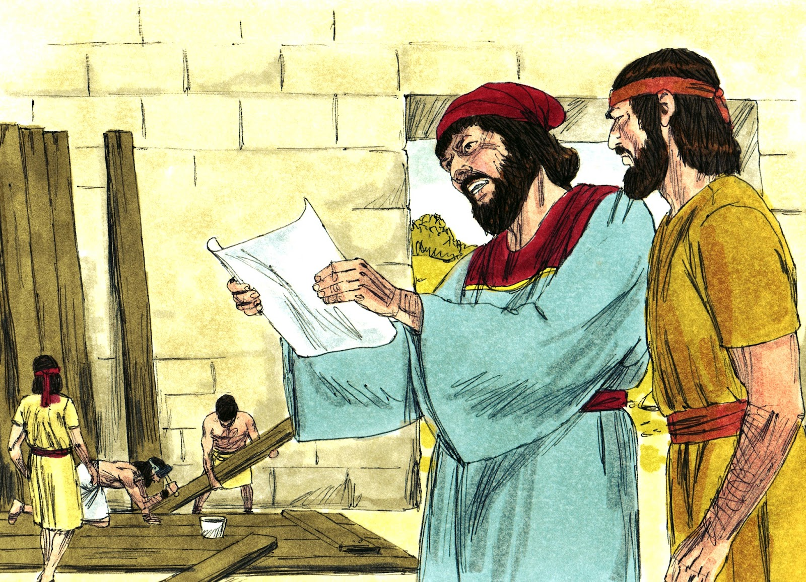 Bible Fun For Kids Nehemiah Rebuilds The Walls Of Jerusalem
