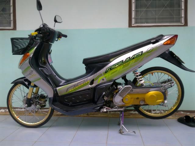 Contoh Modifikasi Motor Nouvo Lele Ala Ala Thailook Style Baek