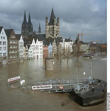 Köln überschwemmung
