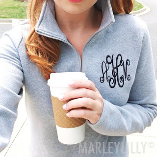 personalized gray sweatshirt