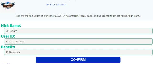 Cara Top Up Diamond Mobile Legends Pakai Pulsa XL Axis