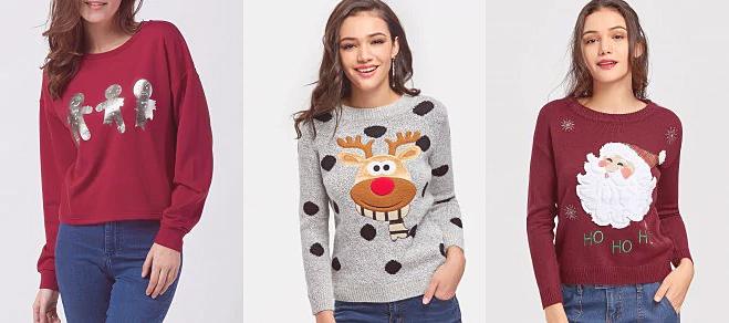 Zaful Christmas Sweaters