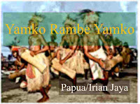 Lirik Yamko Rambe Yamko lagu daerah Papua Irian Jaya