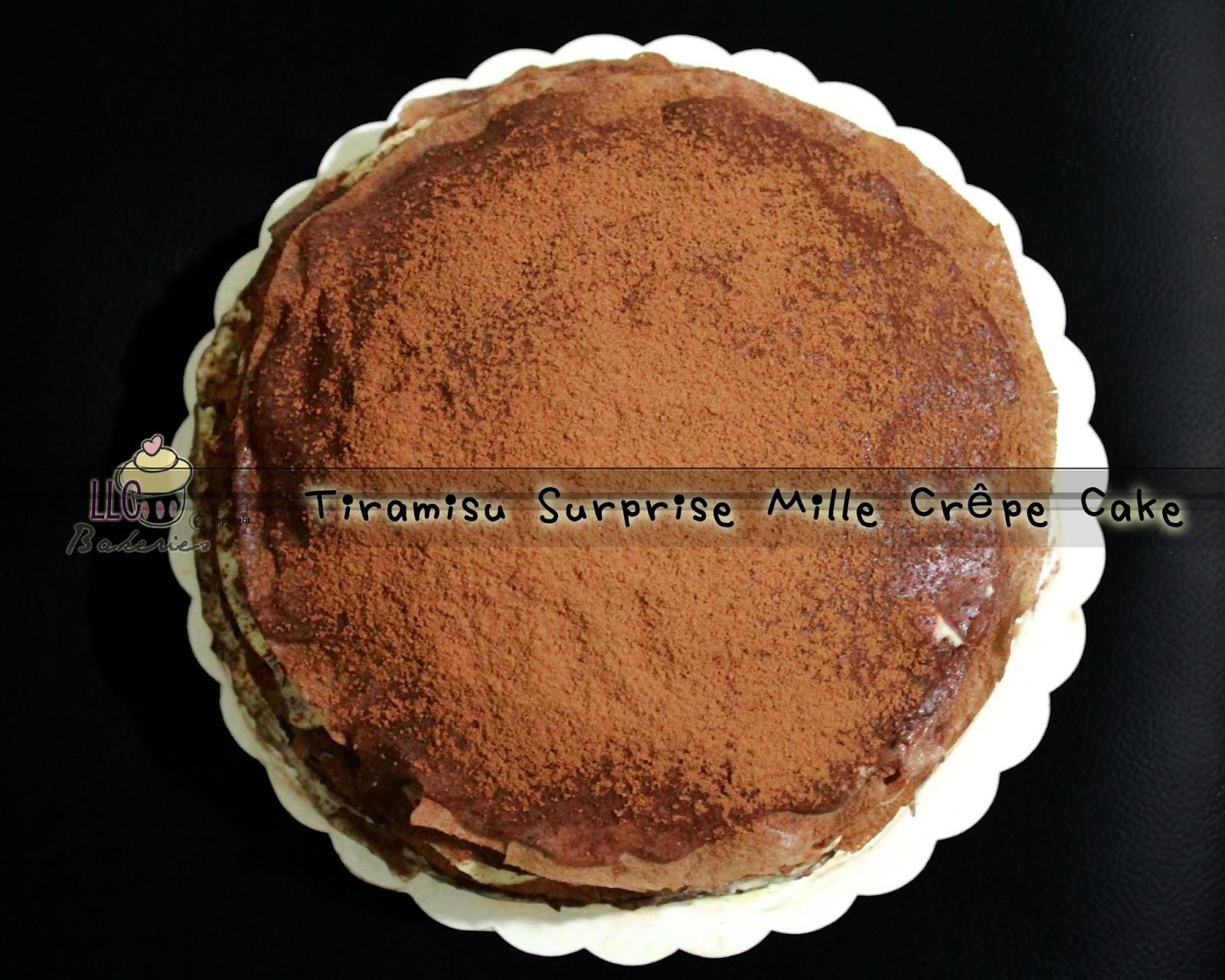 Butter Rum Crepe Cake Recipe