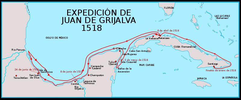 La expedición de Juan de Grijalba (1518) 4