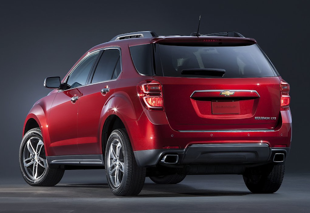 2016 Chevrolet Equinox red