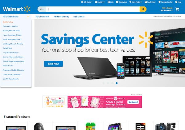 Walmart網站