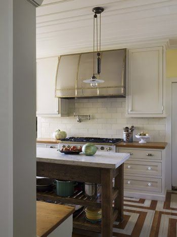 Monday in the Kitchen… Mixed finishes in kitchens | Design Manifest - Kitchen Cabinets Glazed Light Wood Doors
