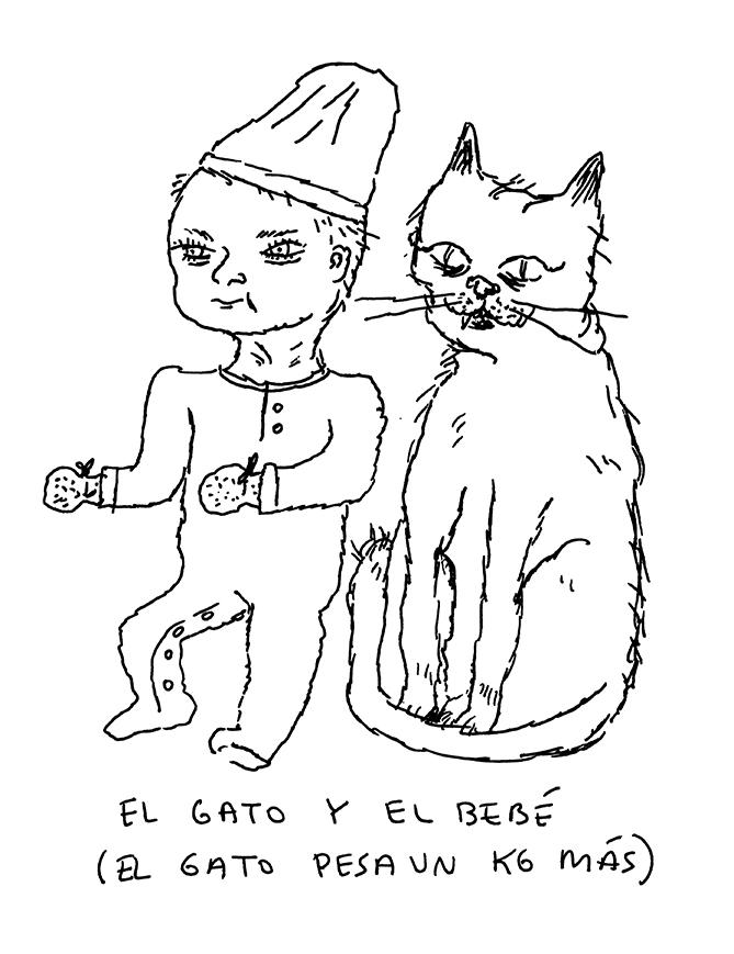 EL GATO Y EL BEBÉ