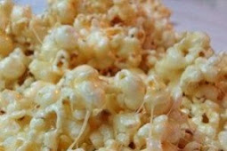 Caramel-Popcorn with Marshmallow