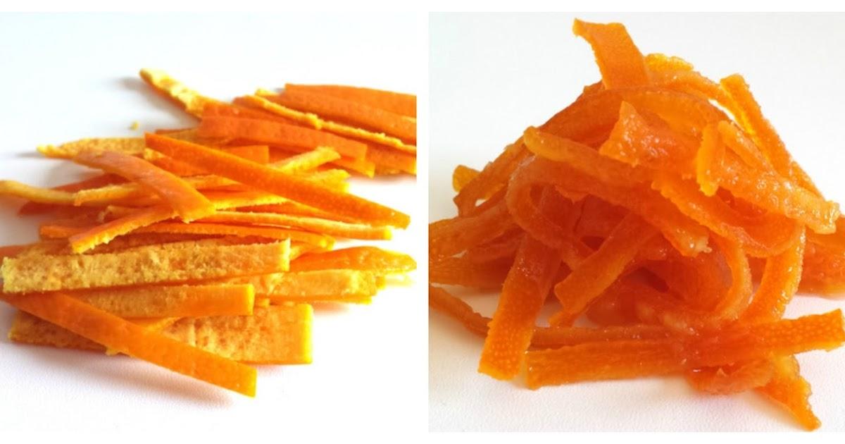 Sweet Pepitas Cómo Hacer Piel De Naranja Confitada