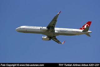 AVIÓN AIRBUS A321 TC-JGS