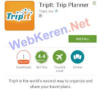 Aplikasi Traveling Android Terpopuler TripIt