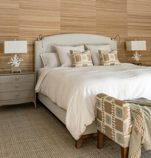 Neutral White & Beige Coastal Bedrooms With A Modern Flair