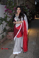 Bollywood Actress Vidya Balan Pos in Saree at Live in Conversation With Renil Aham  0006.jpg