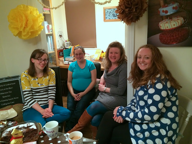 Lovely Ladies at Mrs Bishop's Chocolate Tea Party