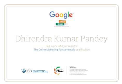 Google Digital Unloked