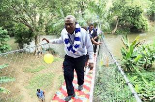 PPL Hands Over New Footbridge to Furimuti Village