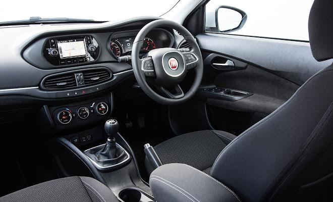 Fiat Tipo front interior