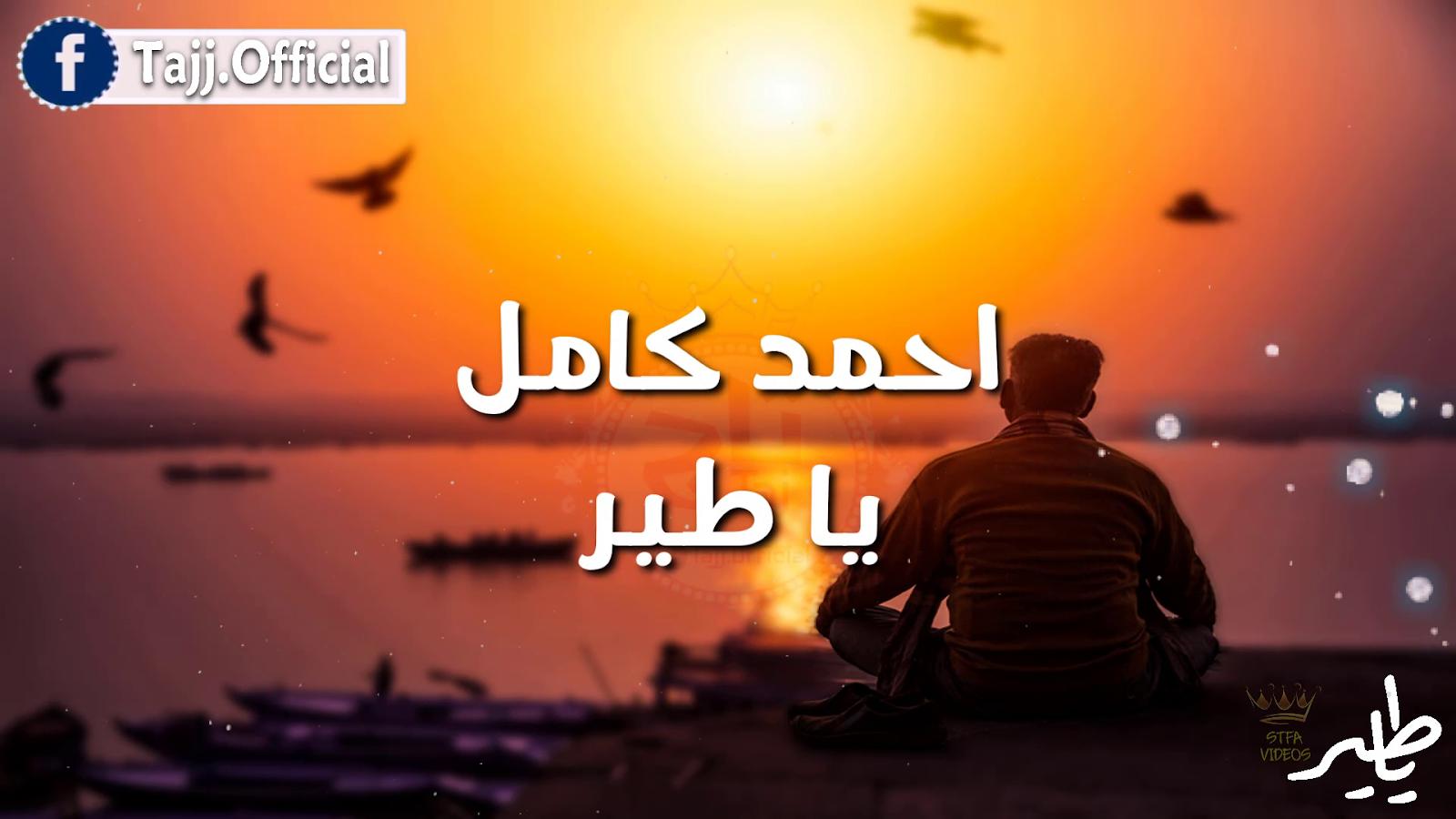 كلمات اغنية احمد كامل - يا طير