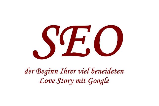 SEO, Tipps, Google, Suchmaschinenoptimierung, Love Story, Know-how, Ratgeber, Werbetexter, Köln, Internet