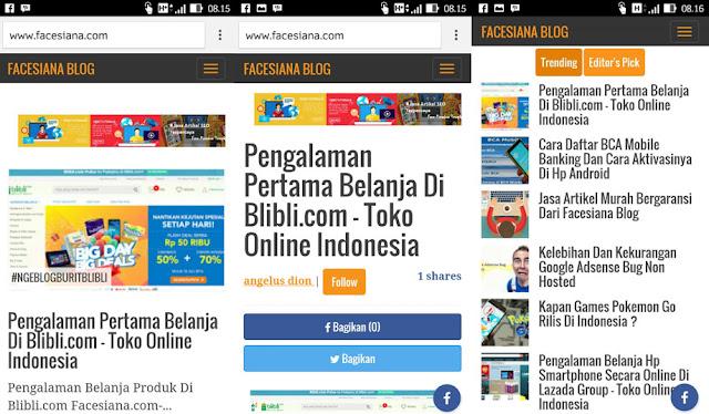 Tempatnya Pasang Iklan Murah Facesiana.com