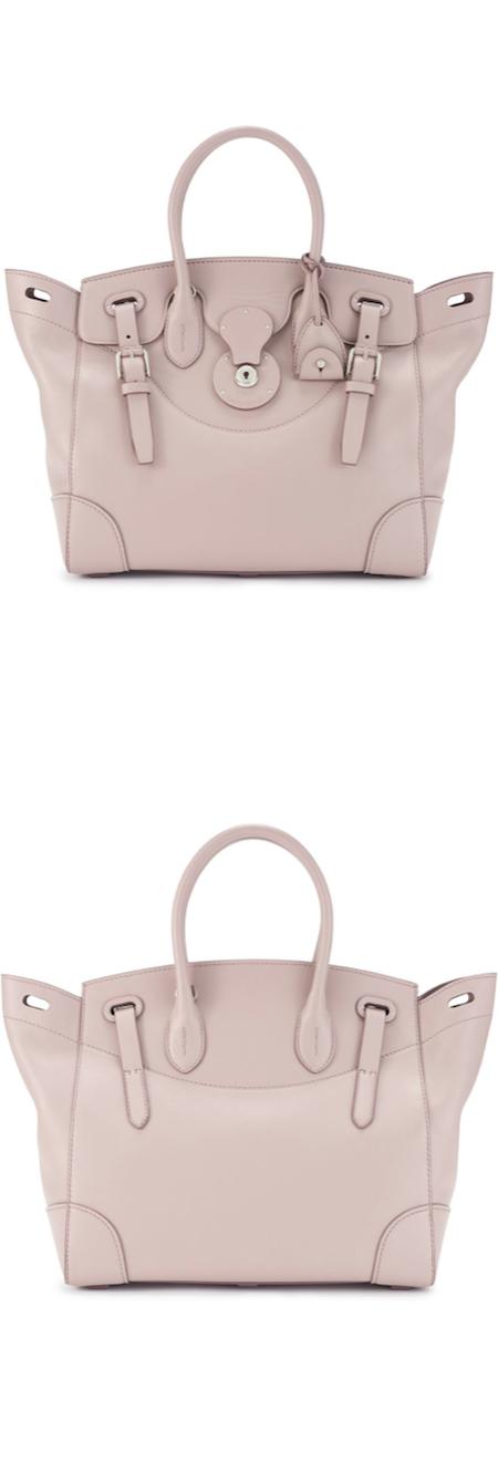 Ralph Lauren Suede Clutch Handbag