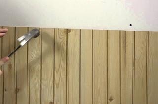 installing wall paneling