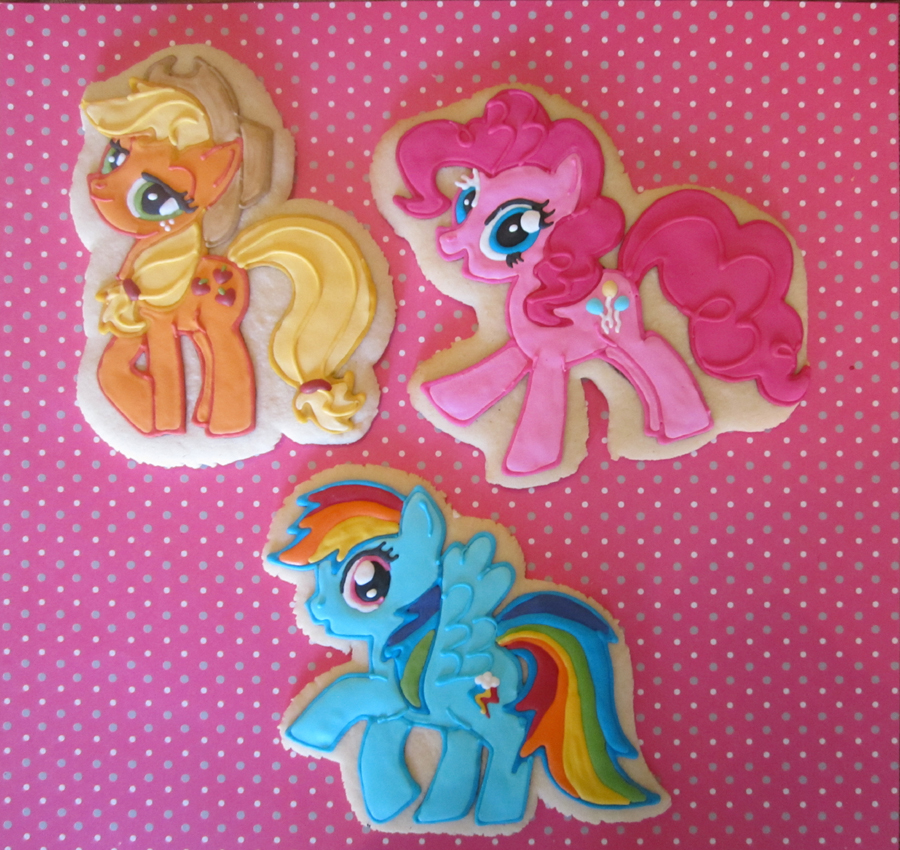 Sugar Cookies Cakes And More My Little Pony 2 0