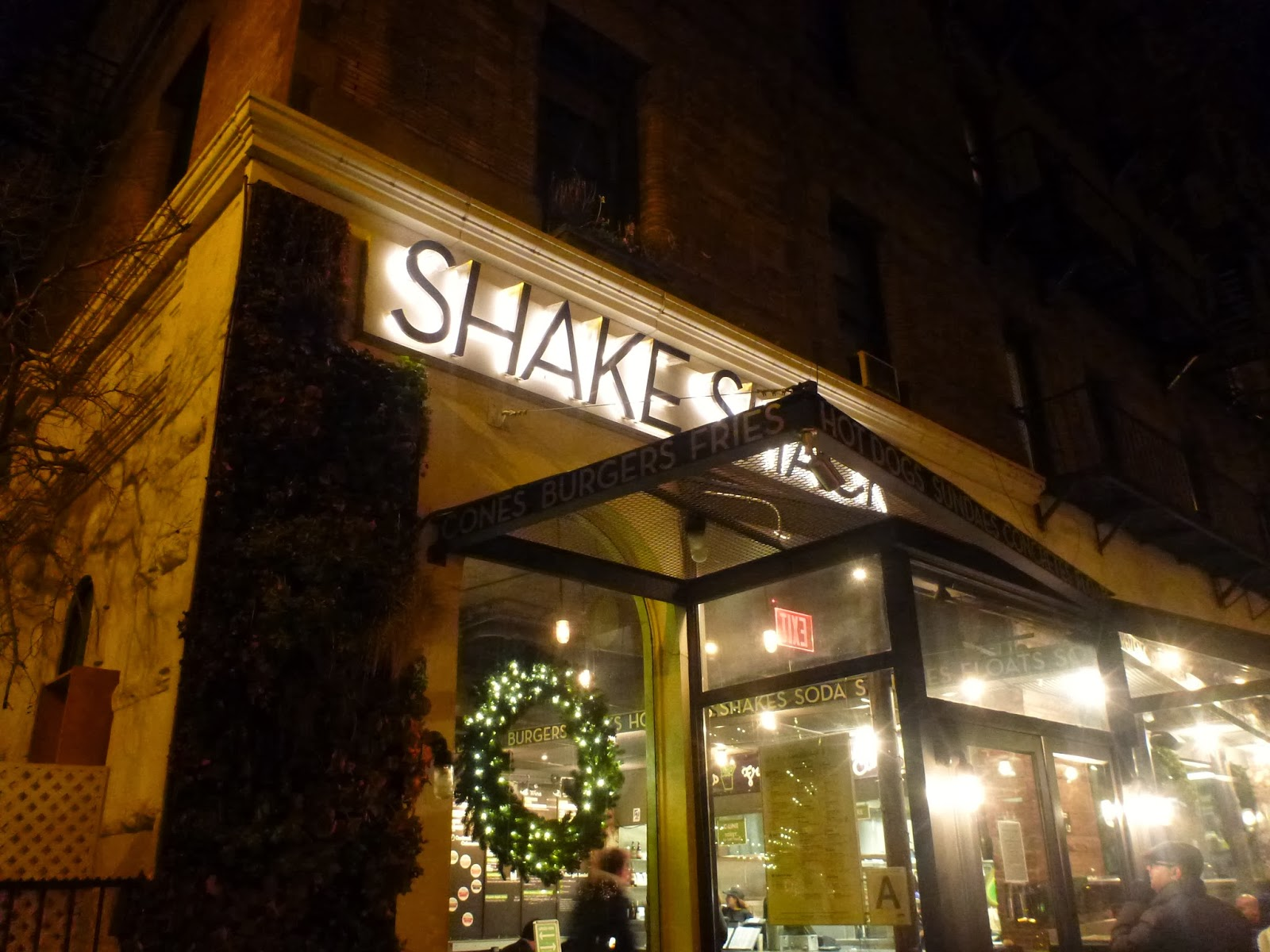 Around the world with Rebecca: Shake Shack, Upper West Side, NYC