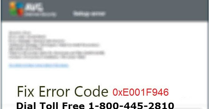 How to Resolve AVG Antivirus Error Code 0xE001F946-Technical Support