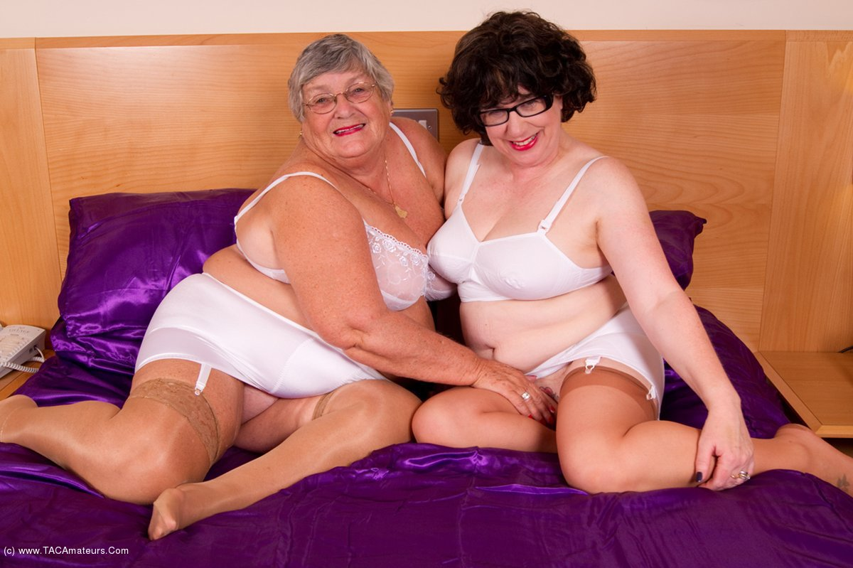 Grandma black sex with