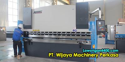 Lowongan Kerja PT. Wijaya Machinery Perkasa Jakarta Utara